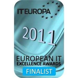 IT Awards 2011 finalist. Evolve este unul din finalistii European IT Excellence Awards 2011