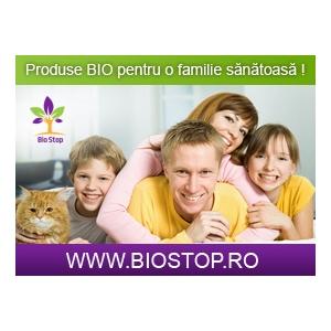 produse bio. Te invitam pe BioStop.ro, magazin online cu produse bio