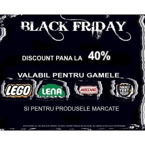 Black Friday la Toypark-Reduceri pana la 40%