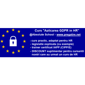 Curs GDPR in HR la Absolute School