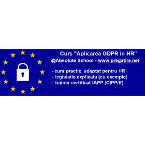Curs GDPR in HR Absolute School