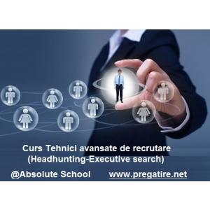 Curs Tehnici de recrutare avansate (Headhunting & Executive search) @Absolute School
