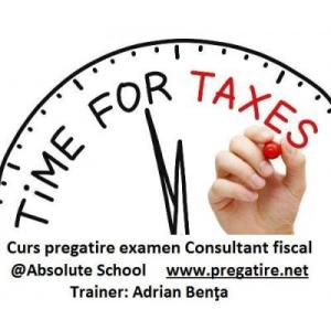 Doresti sa devii Consultant fiscal? Te invitam la un curs de pregatire pentru examen sustinut de Adrian Benta