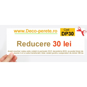 stickere perete 3d. cupon cadou pe Deco-perete.ro