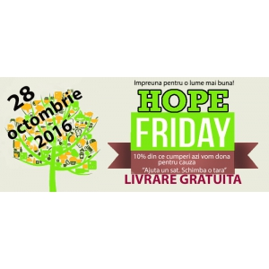Arbex Art Decor. Arbex Art Decor participa la Hope Friday 2016 cu deco-perete.ro si arta-inramarii.ro