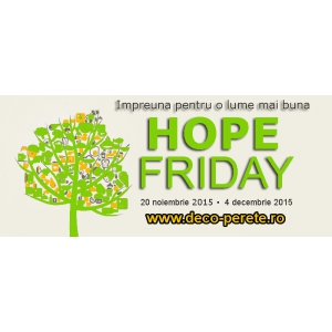 revista gratuita. Livrare gratuita la decoratiuni de perete de Hope Friday
