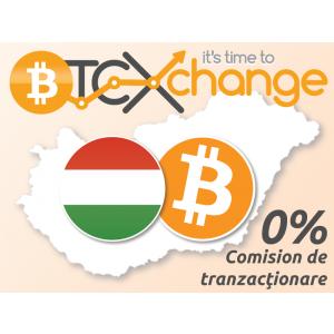 btcxchange. Extindem platforma BTCXchange.ro și pe forintul maghiar (HUF)