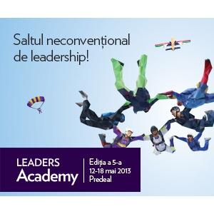 Fundatia LEA. Fundatia LEADERS anunta LEADERS Academy, editia a 5-a