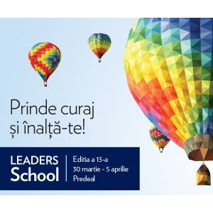 tineri. LEADERS School