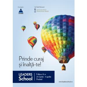 LEADERS School. LEADERS School, unica școală de leadership din România  dedicată tinerilor, a ajuns la a 15-a ediție