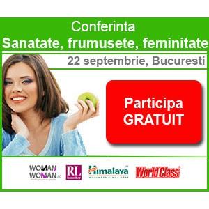 Woman2Woman ro. Afla cum sa ai un stil de viata sanatos la o noua conferinta Woman2Woman.ro