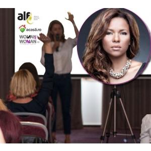 Nadine, speaker motivational la conferinta Femei de cariera. Participa si tu!