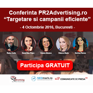 Brandaffair Advertising. Vino la conferinta PR2Advertising. Iata cine sunt speakerii
