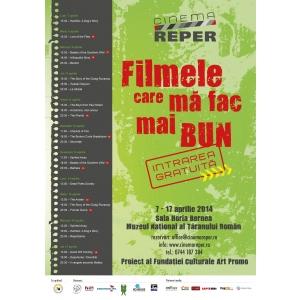 Reper. Cinema REPER - Filmele care ma fac mai bun, intre 7-17 aprilie, la Muzeul National al Taranului Roman