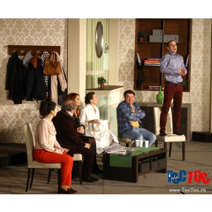 Comedie si Cadouri Vineri 20 martie de Ziua Fericirii la piesa Toc Toc