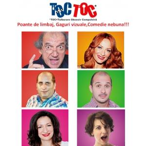 Sambata 25 aprilie – Suprize Victorinox la spectacolul de comedie TOC TOC