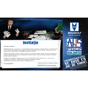 confidential. invitatie