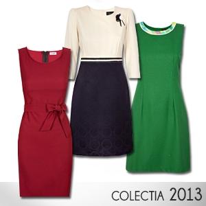 colectie primavara. Modele de rochii office din colectia 2013