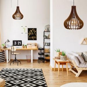lustre artizanale. Wooden Lamp Design