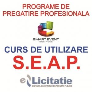 """e-licitatie. Curs """"Utilizarea Eficienta a SEAP"""" – aplicatii pe www.e-licitatie.ro – Operatori Economici"""