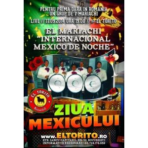 ziua mexicului. Pentru prima oara in Romania UN GRUP DE 7 MARIACHI @ EL TORITO // ZIUA MEXICULUI