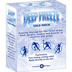 crioterapia. Deep Freeze plasturi