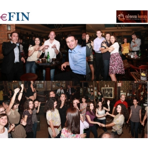 after-work party. Cafeneaua Bancara organizeaza o noua editie After-Work Party
