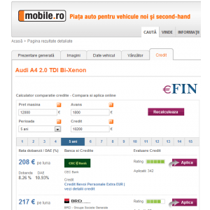 eBAY. Parteneriat eFin.ro si Mobile.ro