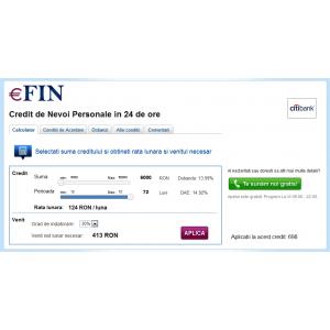 click for call. eFin.ro lanseaza serviciul gratuit Click4Call