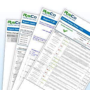 RisCo - Rating si Limite Plati la Termen in euro si dolar american!