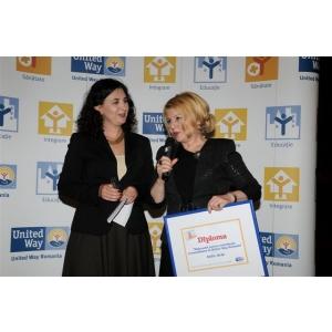United Way Romania a premiat implicarea sociala a celor mai importanti parteneri ai sai