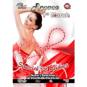 1 mart. 1 Martie Party @ Club Rococo!!
