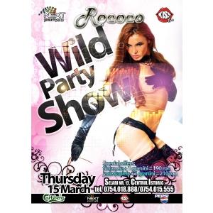 Joi 15 Martie Wild Party@ Club Rococo