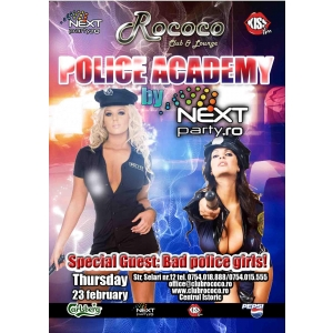Rococo. Police Academy @ Club Rococo!
