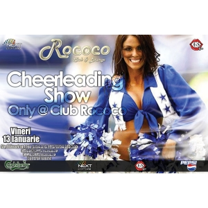 animatoare.  Weekend Inedit la Club Rococo - CHEERLEADING SHOW l!!!!