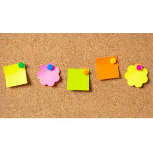 Lucruri creative pe care le poti face cu un set de pioneze colorate