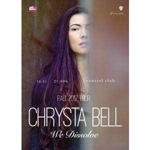 we dissolve. poster Chrysta Bell