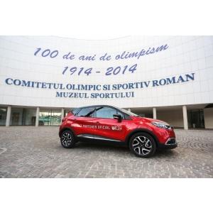 olimpism. Renault România, partener principal al Comitetului Olimpic Sportiv Român, felicită COSR pentru un secol de olimpism în România