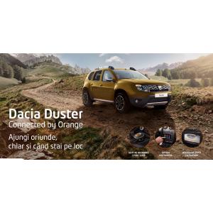 connected. Dacia lansează ediţia specială Duster Connected by Orange