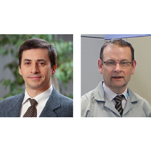 management nou. Cornel Olendraru (stanga)   Philippe Nottez (dreapta)