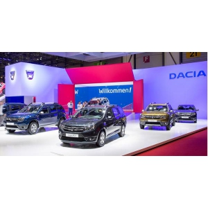 salon geneva. Noutăţile Dacia la Salonul de la Geneva 2016