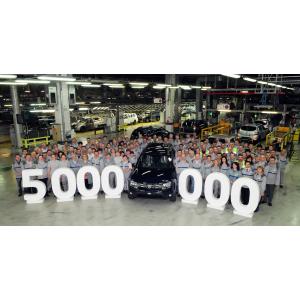 vehicule. Uzina Vehicule Dacia a produs 5 milioane de automobile