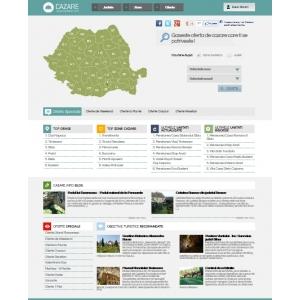 pachete de cazare. 1 an de la lansarea proiectului Cazare.info