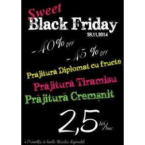 """top pr. Cofetariile Tip Top  se pregatesc de lansarea """"Promotiei Sweet Black Friday""""."""