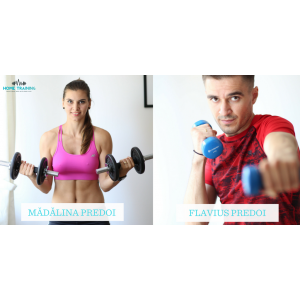 fitness live. Mădălina și Flavius Predoi