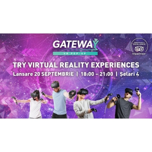 Primul Virtual Reality Pop-up din România se deschide pe 20 septembrie în București