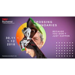 TEDxBucharest sărbătorește 10 ani cu o ediție specială: pe parcursul a două zile vin peste 20 de speakeri din România, Europa, SUA și Canada!