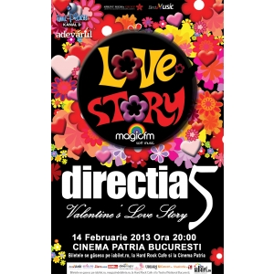 Bestmusic prezinta: Directia 5 - doua concerte de Valentine's Day in Bucuresti