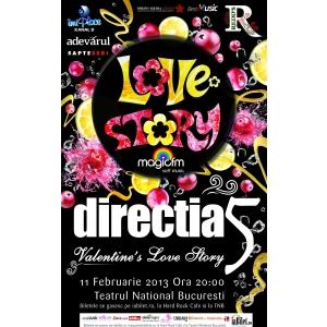 Directia 5 si REDD'S va invita la doua concerte speciale de Ziua Indragostitilor: Valentine's Love Story