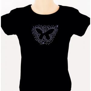 cristale. Tricouri cu cristale by Lydia – o noutate pe piata romaneasca!